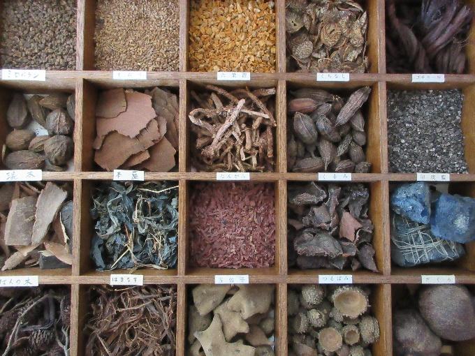 様々な植物染料
